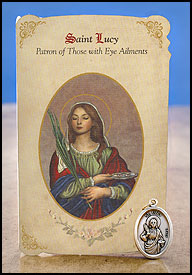 Saint Lucy: Eye Ailments